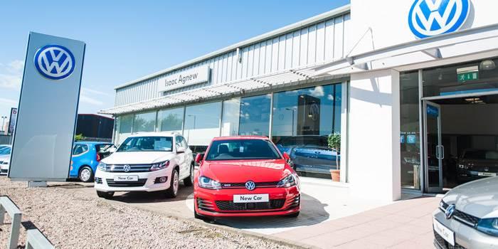 Das Weltauto Belfast Newtownabbey Agnew Volkswagen