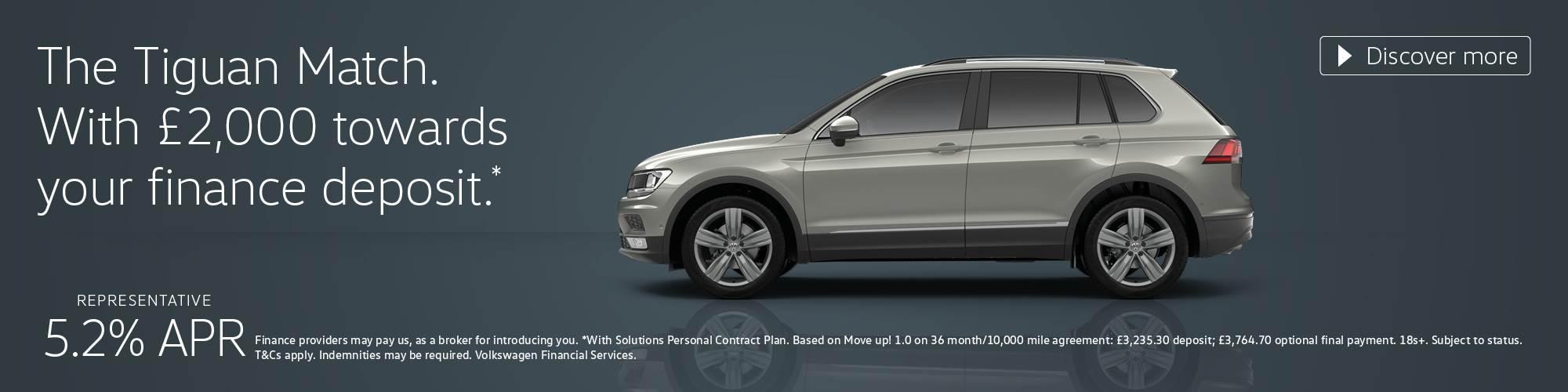 b535b68b12 New Volkswagen Tiguan Match